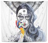 Janus Tapestry by  Minjae