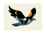 I Believe I Can Fly Giclee Print by Andy Westface