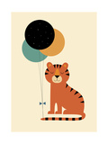 Time to Celebrate Giclee Print by Andy Westface