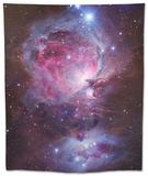 M42, the Orion Nebula (Top), and NGC 1977, a Reflection Nebula (Bottom) Tapestry by  Stocktrek Images