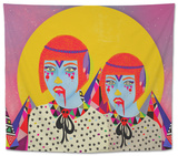 Less Human Everyday Tapestry by Diela Maharanie