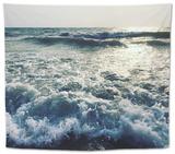 Indian Ocean. Goa Beach. Tapestry by  kseniaarrr