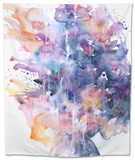 In A Single Moment All Her Greatness Collapsed Tapestry by Agnes Cecile