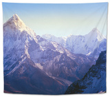 Himalaya Mountains Tapestry by Microstock Man