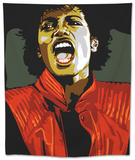 Michael Jackson - Thiller Tapestry by Emily Gray