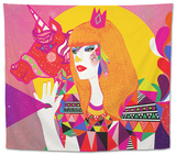 The Queen Tapestry by Diela Maharanie