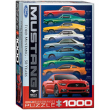 Ford Mustang 50 Years 1000 Piece Puzzle Jigsaw Puzzle