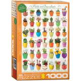 Cacti & Succulents 1000 Piece Puzzle Jigsaw Puzzle