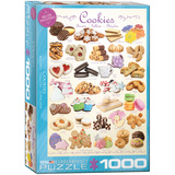 Cookies 1000 Piece Puzzle Jigsaw Puzzle