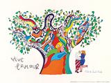 Vive L'amour, 1970 Plakater af Niki De Saint Phalle