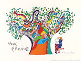 Vive L'amour, 1970 Kunstdrucke von Niki De Saint Phalle
