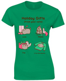Women's: Pusheen- Holiday Cat Gifts T-Shirts