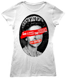 Women's: Sex Pistols- God Save The Queen Cameo T-Shirt