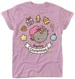 Womens: Pusheen- Meowy Christmas Treat Wreath Vêtement