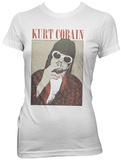 Women's: Kurt Cobain- Smoking Pastel Vêtements