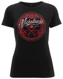 Women's: Nickelback- Burn It To The Ground LP T-Shirt
