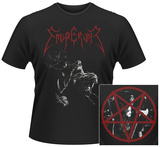 Emperor- Wrath of the Tyrant Pentagram (Front/Back) Magliette