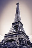 The Eiffel Tower, Paris, France Reproduction photographique par Russ Bishop