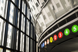 Interior of a Subway Station, New York City, New York, Usa Photographic Print by Julien McRoberts