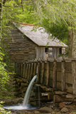 Cable Mill, Cades Cove, Great Smoky Mountains National Park, Tennessee Photographic Print by Adam Jones