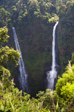 Tad Fane Waterfall, This Is the Tallest Waterfall in Laos. Bolaven Plateau, Laos Reproduction photographique par Micah Wright