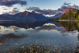 Sunset over Lake Mcdonald in Glacier National Park, Montana, Usa Photographic Print by Chuck Haney