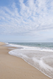 Beach Near Kitty Hawk, Outer Banks, North Carolina Stretched Canvas Print by Michael DeFreitas