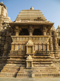 Temple of Khajuraho, Khajuraho, Madhya Pradesh, India Photographic Print by Jagdeep Rajput