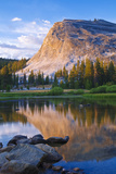 Evening Light on Lembert Dome and the Tuolumne River, Tuolumne Meadows Area, California, Usa Reproduction photographique par Russ Bishop