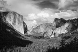 Yosemite Valley from Tunnel View, California, Usa Reproduction photographique par Russ Bishop