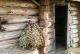 Barn Exterior, Varska, Estonia, Baltic States Photographic Print by Nico Tondini
