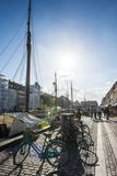 Nyhavn, 17th Century Waterfront, Copenhagen, Denmark Fotografisk trykk av Michael Runkel
