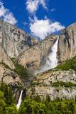 Yosemite Falls, California, Usa Reproduction photographique par Russ Bishop