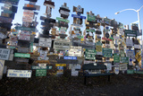 The Yukon's Watson Lake Sign Post Forest, Watson Lake, Canada Reproduction photographique par Richard Wright