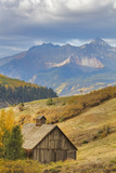 Weathered Wooden Barn Near Telluride in the Uncompahgre National Forest, Colorado, Usa Photographic Print by Chuck Haney