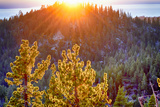 Nevada, Lake Tahoe at Sunset Photographic Print by Savanah Stewart