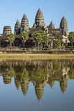 Angkor Wat Temple Complex, Angkor World Heritage Site, Siem Reap, Cambodia Reproduction photographique par David Wall