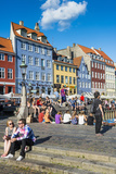 Nyhavn, 17th Century Waterfront, Copenhagen, Denmark Photographic Print by Michael Runkel