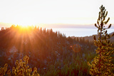 Nevada, Lake Tahoe at Sunset Photographic Print by Savanah Stewart