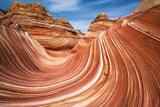 The Wave, Coyote Buttes, Paria-Vermilion Cliffs Wilderness, Arizona, Usa Reproduction photographique Premium par Russ Bishop
