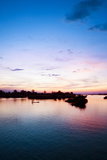 The Island of Don Det Is an Upcoming Backpacker Stop on Mekong River Along Cambodia and Laos Border Reproduction photographique par Micah Wright