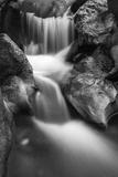 Cascade on Hare Creek, Limekiln State Park, Big Sur, California, Usa Reproduction photographique par Russ Bishop
