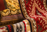 Navajo Rugs, Hubbell Trading Post National Historic Site, Arizona, Usa Reproduction photographique par Russ Bishop