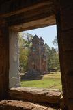Suor Prat Towers, Angkor Thom, Angkor World Heritage Site, Siem Reap, Cambodia Reproduction photographique par David Wall