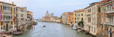 Panorama. Grand Canal. Basilica Di Santa Maria Della Salute in Background. Venice. Italy Fotografisk trykk av Tom Norring