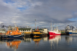 Fishing Vessel in Harbor at Hofn, Iceland Photographic Print by Chuck Haney