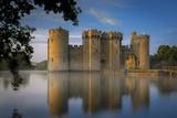 Dawn at Bodiam Castle, Bodiam, Robertsbridge, East Sussex, England Fotografisk trykk av Brian Jannsen