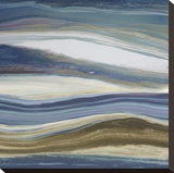 Ebb Tide Stretched Canvas Print by Paul Duncan