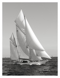 Classic sailboat Print by  Anonymous