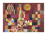 Castle and Sun (detail) Posters af Paul Klee